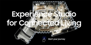 Samsung präsentiert das digitalisierte Experience Studio for Connected Living