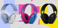 Leichtes, kabelloses Headset Logitech G435