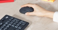 Logitech MK295 Silent Wireless Combo mit SilentTouch