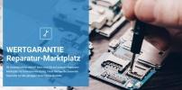 Aus clickrepair wird der Wertgarantie Reparatur-Marktplatz