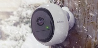 Wetterfeste WLAN-Kamera mit Weitwinkelobjektiv