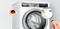 Waschmaschine von Bosch mit neuer Energieeffizienzklasse A