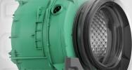 Edition 75 Waschtrockner von Grundig mit PET-Trommelgehäuse
