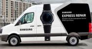 Samsung startet mobilen Reparaturservice mit Express Repair Bussen