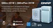 QNAP präsentiert Tri-Band Mesh Router der QMiro-Serie