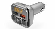 FM-Transmitter mit Bluetooth- und Freisprechfunktion von Hama