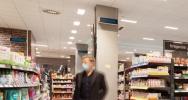 UV-C-Desinfektion durch Signify bei EDEKA