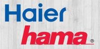 Zubehörspezialist Hama vermarktet Weiße Ware-Großgeräte von Haier